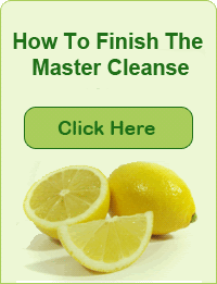 Master Cleanse Product