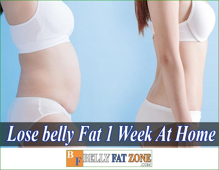 Lose Belly Fat in 1 Week At Home
