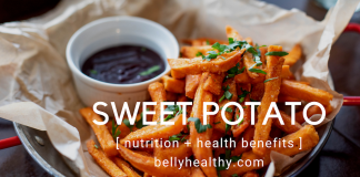 sweet potato nutrition and health benefits
