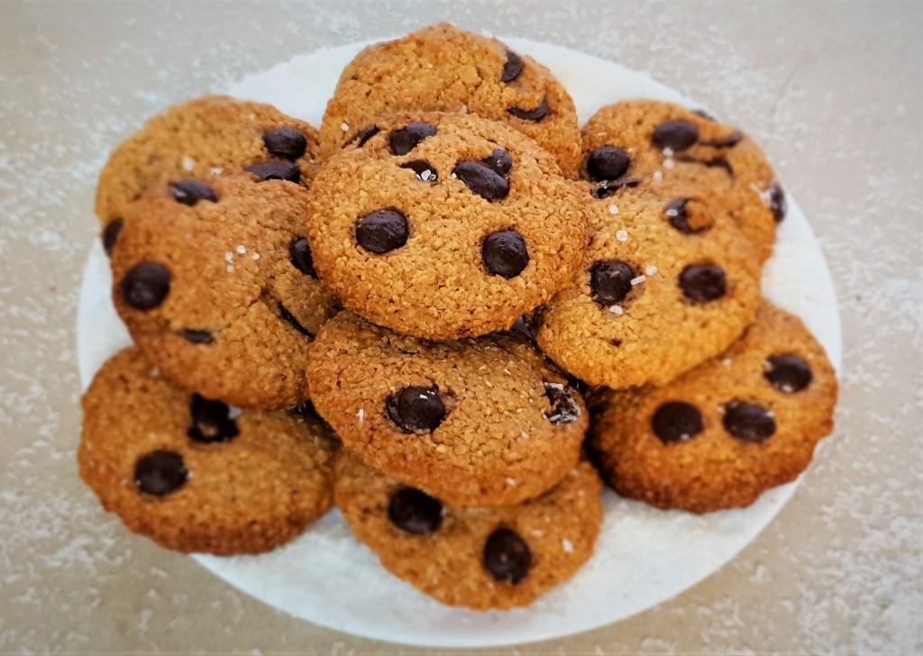 עוגיות שוקולד צ'יפס דלים בפודמאפ, Low FODMAP chocolate chips cookies