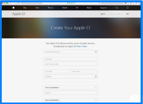 Apple Id - Creating Apple Id Made Easy