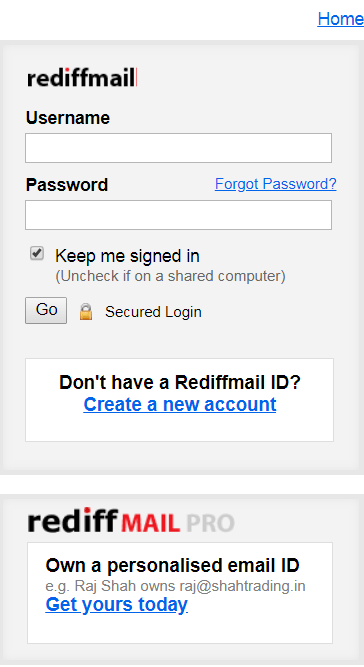 Rediffmail Create account – How to Register Email Rediff.com | Rediffmail account Features