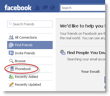Facebook number search using mobile Simple Ways