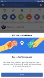 How do I Add Marketplace to Facebook