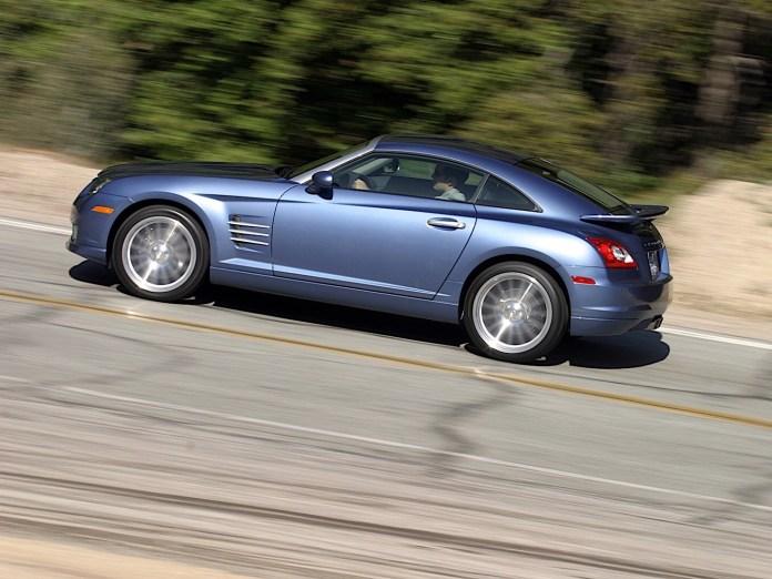 2005 Chrysler Crossfire SRT6 Aerodynamics