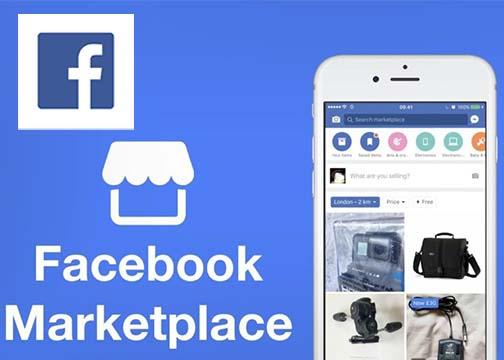 Facebook Online Marketplace App