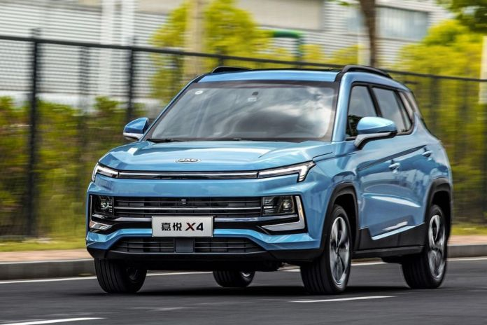 The 2021 Jac Jiayue X4 SUV Super Car - All You Need To Know
