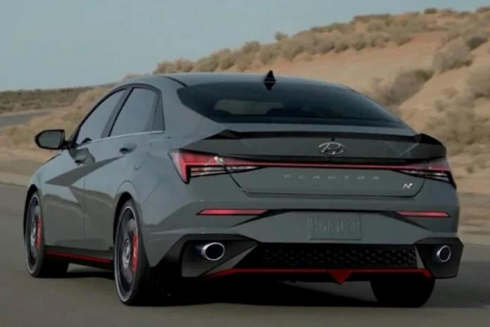 2021 Hyundai Elantra N Line features
