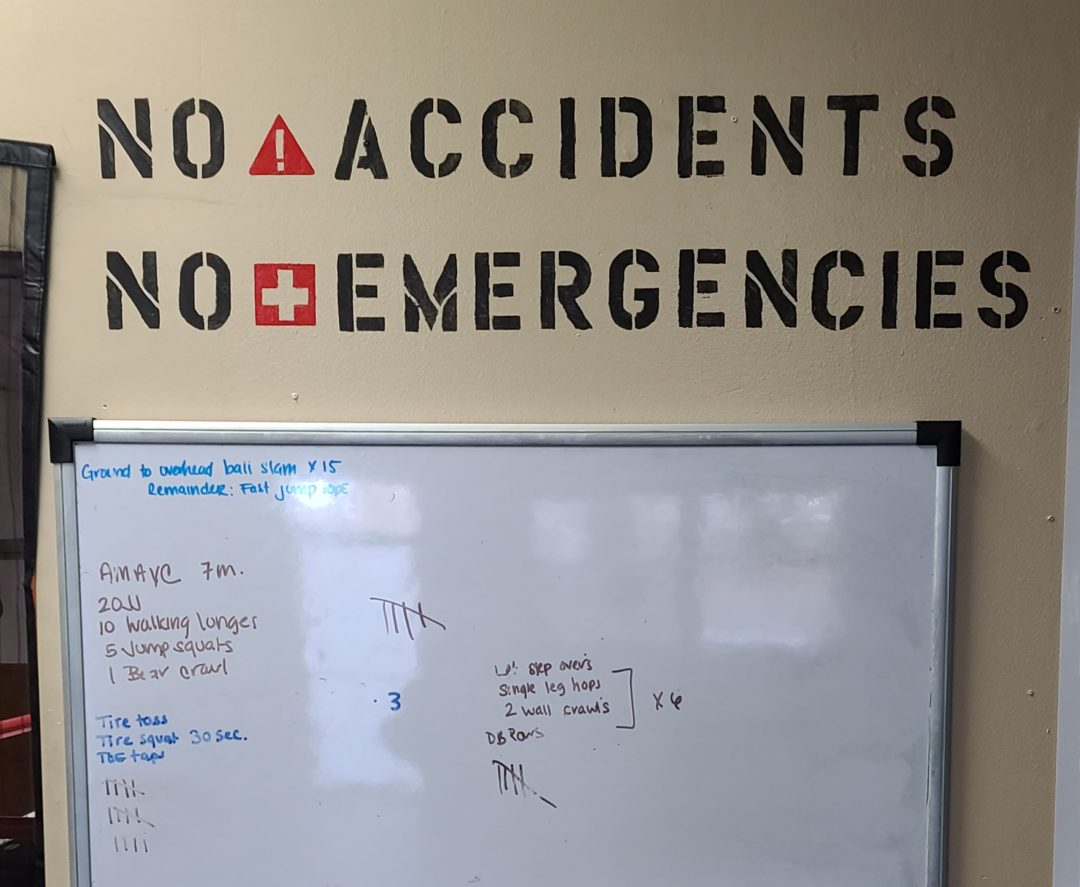 No Accidents No Emergencies