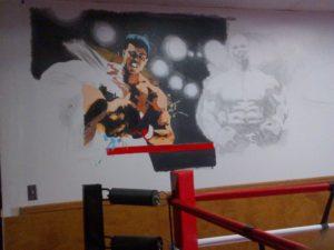 Boxing Unfinished Image