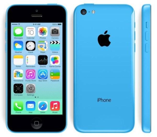 Refurbished Apple iPhone 5C 16GB Blauw Licht Gebruikt (4)