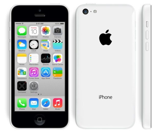 Refurbished Apple iPhone 5C 16GB Wit Gebruikerssporen (3)