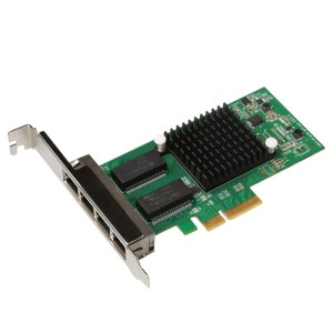 TXA034 4 RJ45-poorten Intel I350 PCI Express Gigabit Network LAN Card Network Adapter
