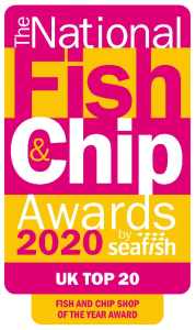 National Fish & Chips Awards 2020- UK top 20