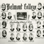 Belmont College graduating class of 1955