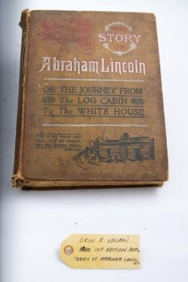 """1900 1st edition book, """"Story of Abraham Lincoln"""""""