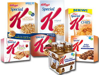 Special K product lineup