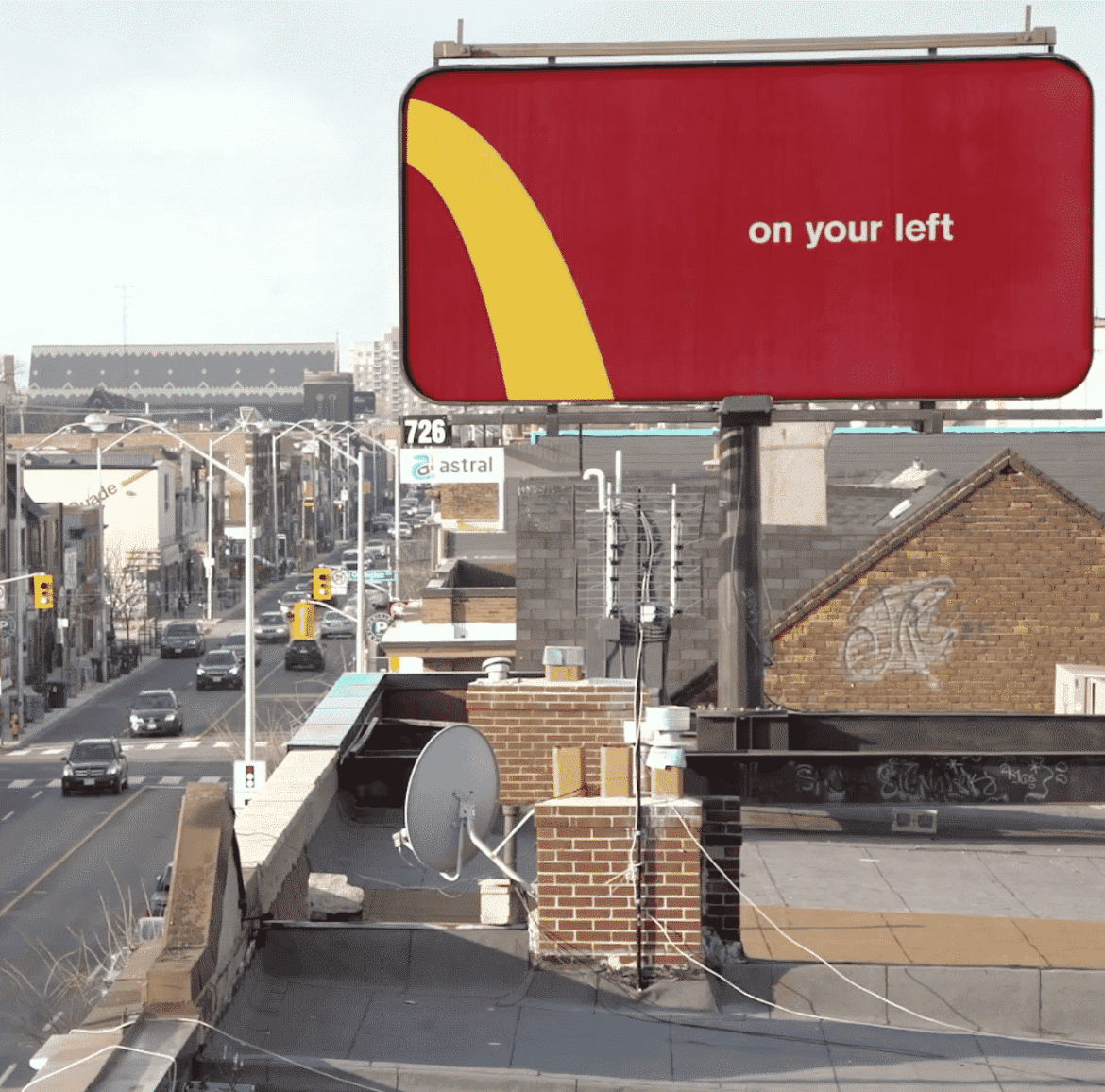 McDonald's outdoor ads