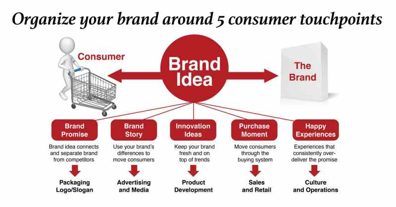 Brand Idea Consumer Touchpoints