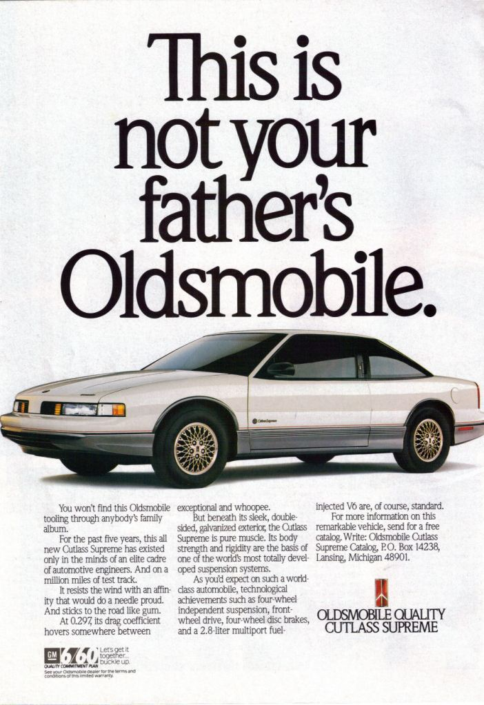 Oldsmobile Ad