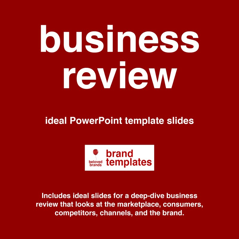 business review template