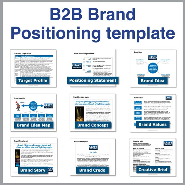 B2B Toolkit B2B Brand Positioning Template