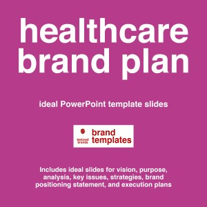 Healthcare Brand Plan template