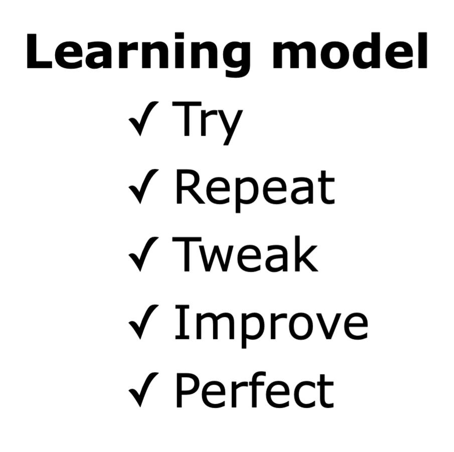 Learning model skills