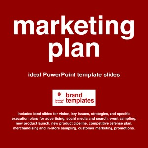 Marketing Plan template PowerPoint format