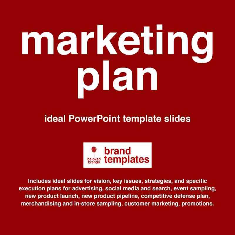Marketing Plan template PowerPoint format