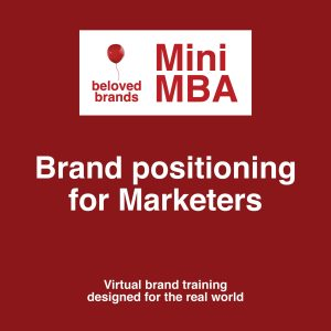 brand positioning course for marketers