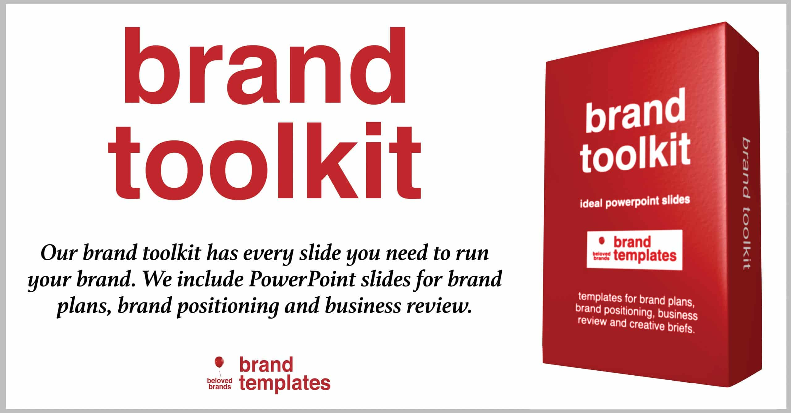 Brand Toolkit banner ad