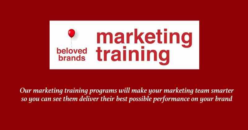 marketing training brand management career