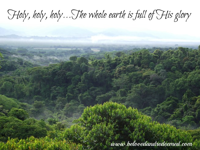 Costa Rica The whole earth is full of his glory