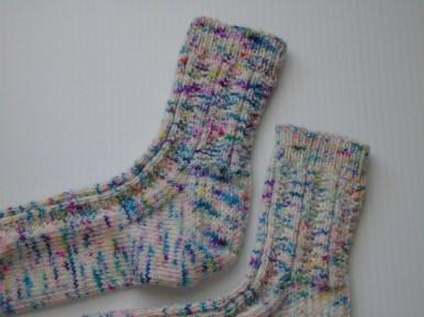Confetti Cake Socks | Beloved Brown-Eyed Girl Blog