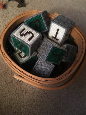 birthday basket o'blocks