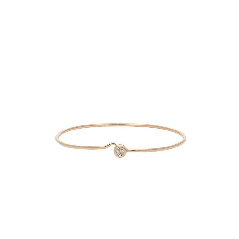 Diamond Bezel Love Bracelet Yellow Gold