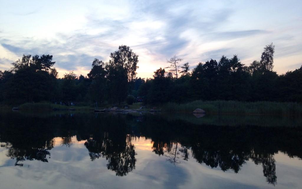 sunset archipelago