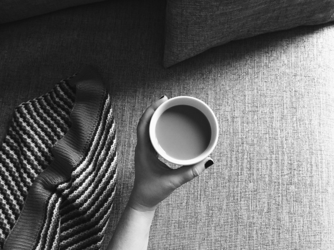 coffee sofa morning