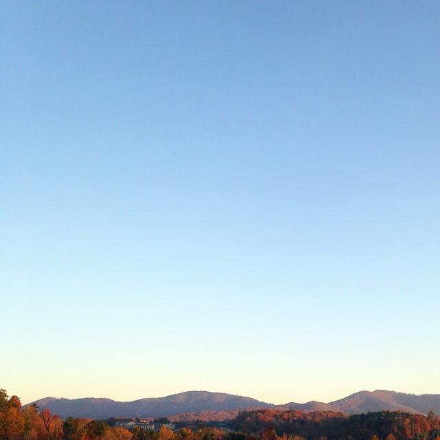 mountains autumn