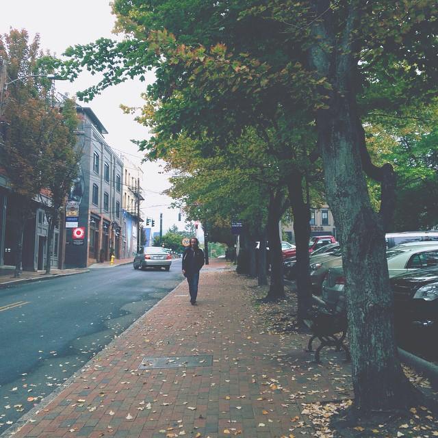asheville downtown autumn