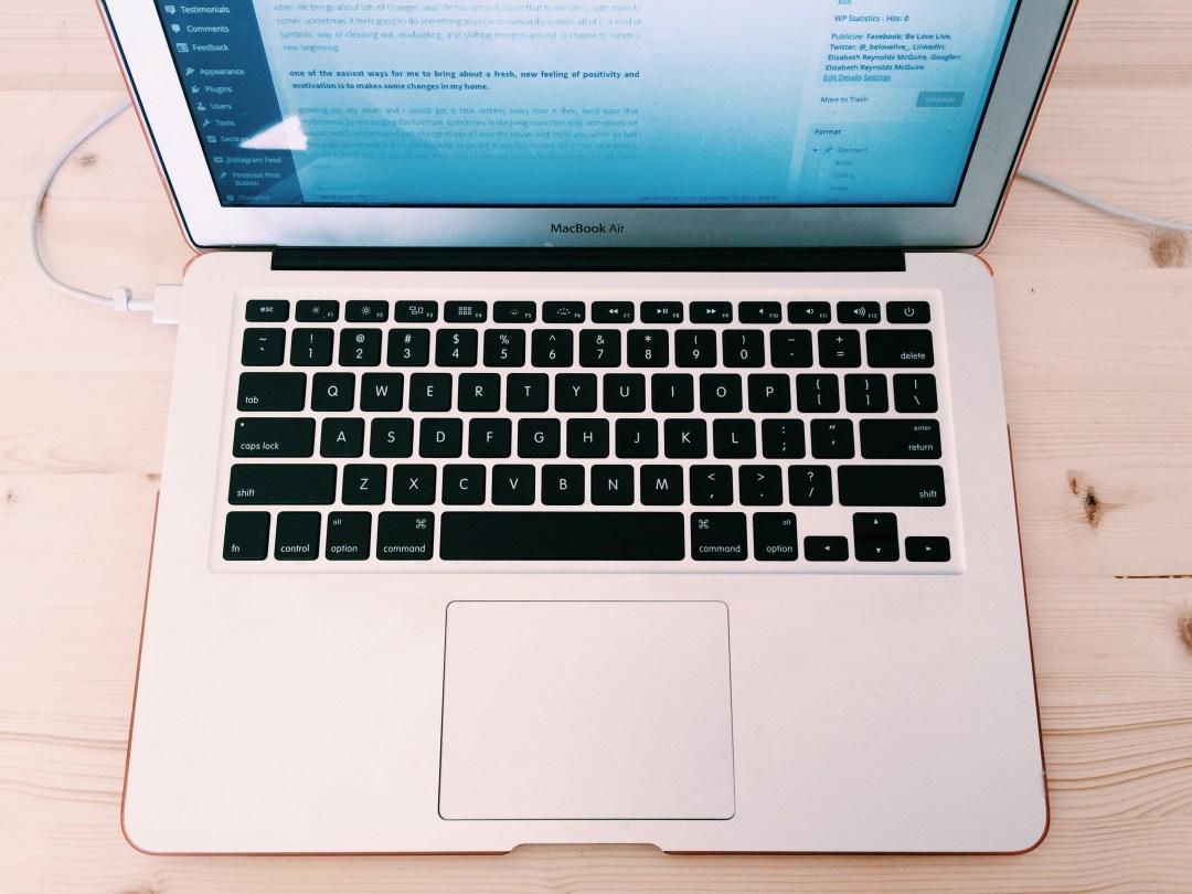 computer blogging