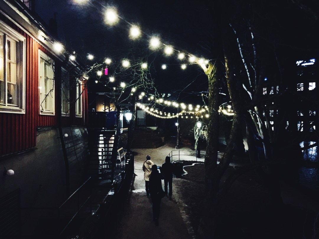 christmas lights walk norrköping