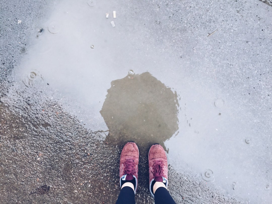 spring rain me feet
