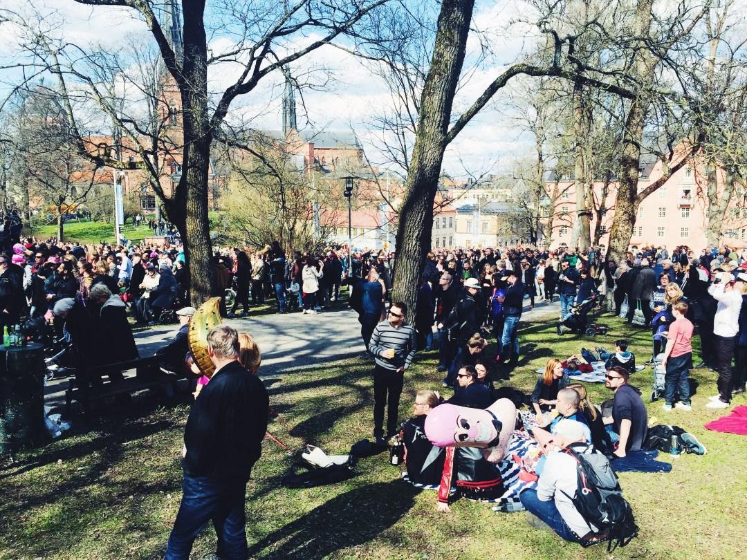 uppsala valborg spring picnic