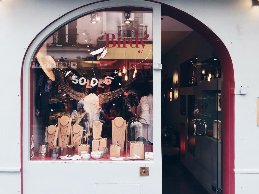 boutiques paris le marais