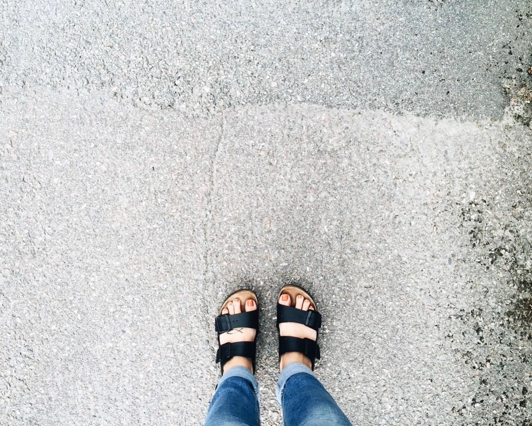 me feet birkenstocks