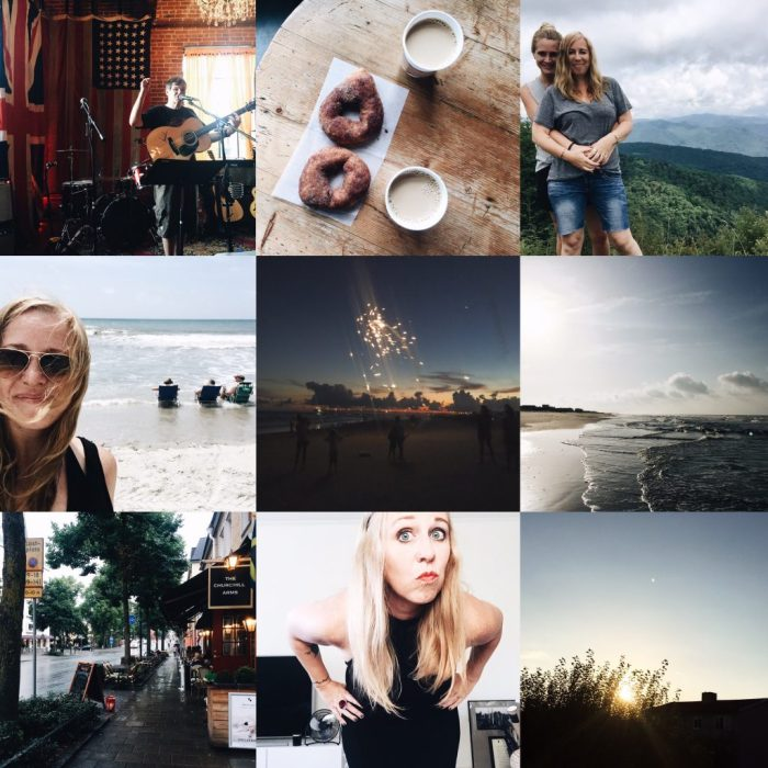 august summary photography collage