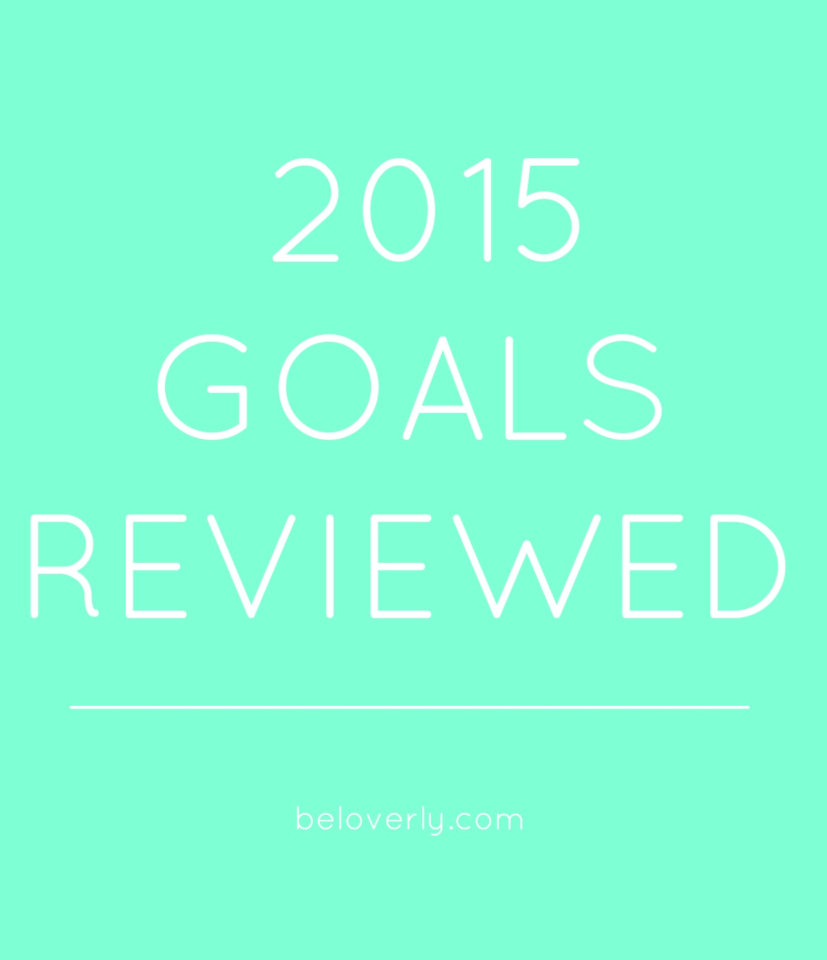 2015GOALSREVIEWED