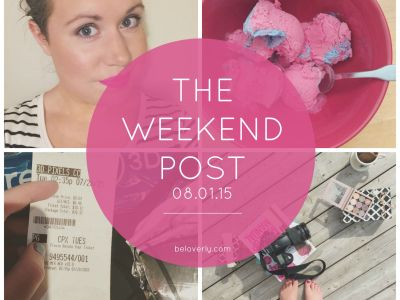 The Weekend Post | 08.01.15